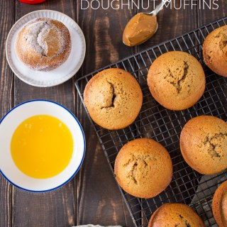 Biscoff Doughnut Muffins