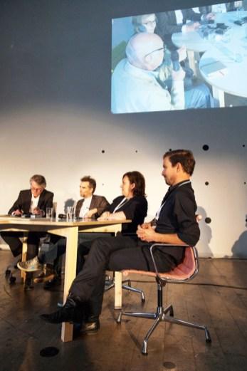 Podium: Klaus Klemp, Jan Boelen, Caroline Seifert, Stefan Diez