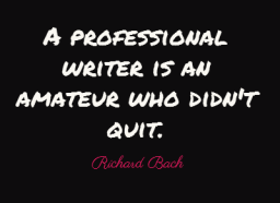 writing quote Richard Bach