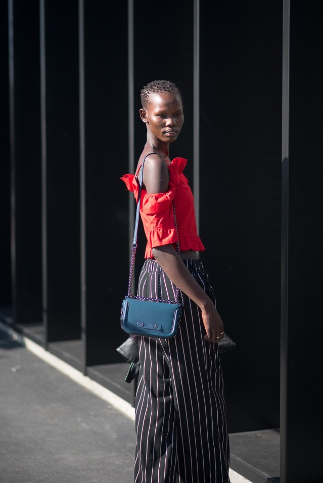 Shanelle Nyasiase Models Off Duty Gucci Milan Fashion Week September 2017 Photography Annika Lagerqvist www.annikasomething.com
