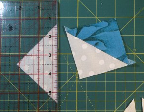 Half Squares Triangles II