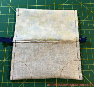 Denim Leather Pouch X