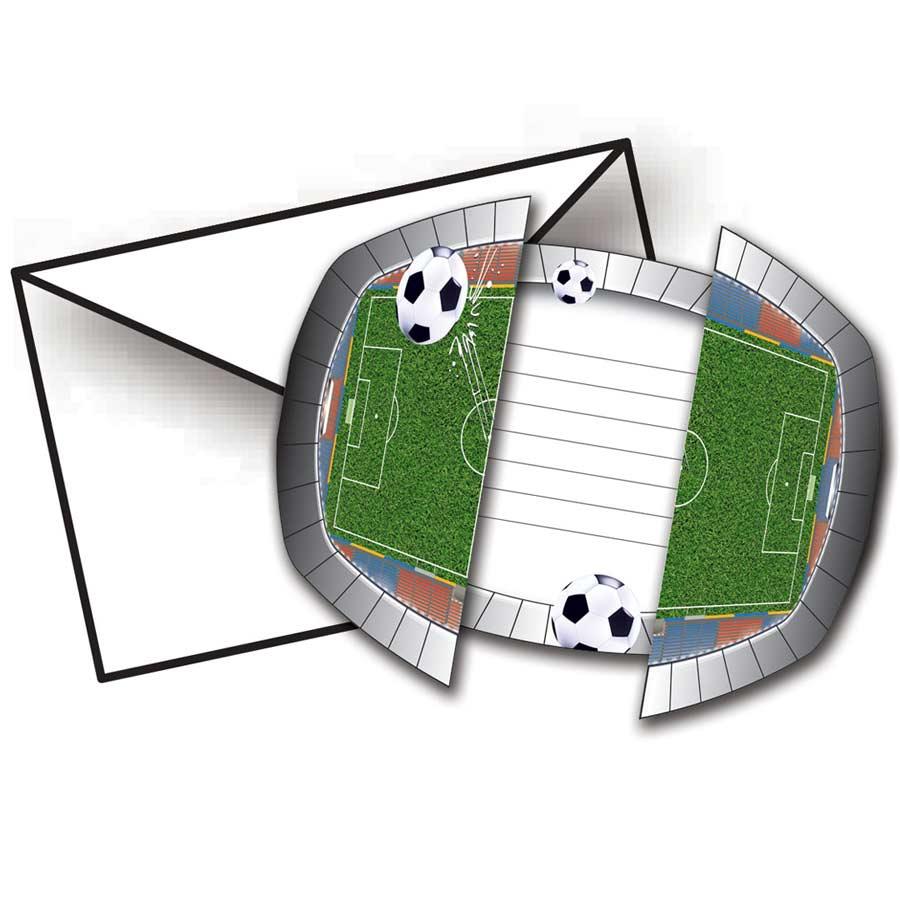 8 invitations stade de foot