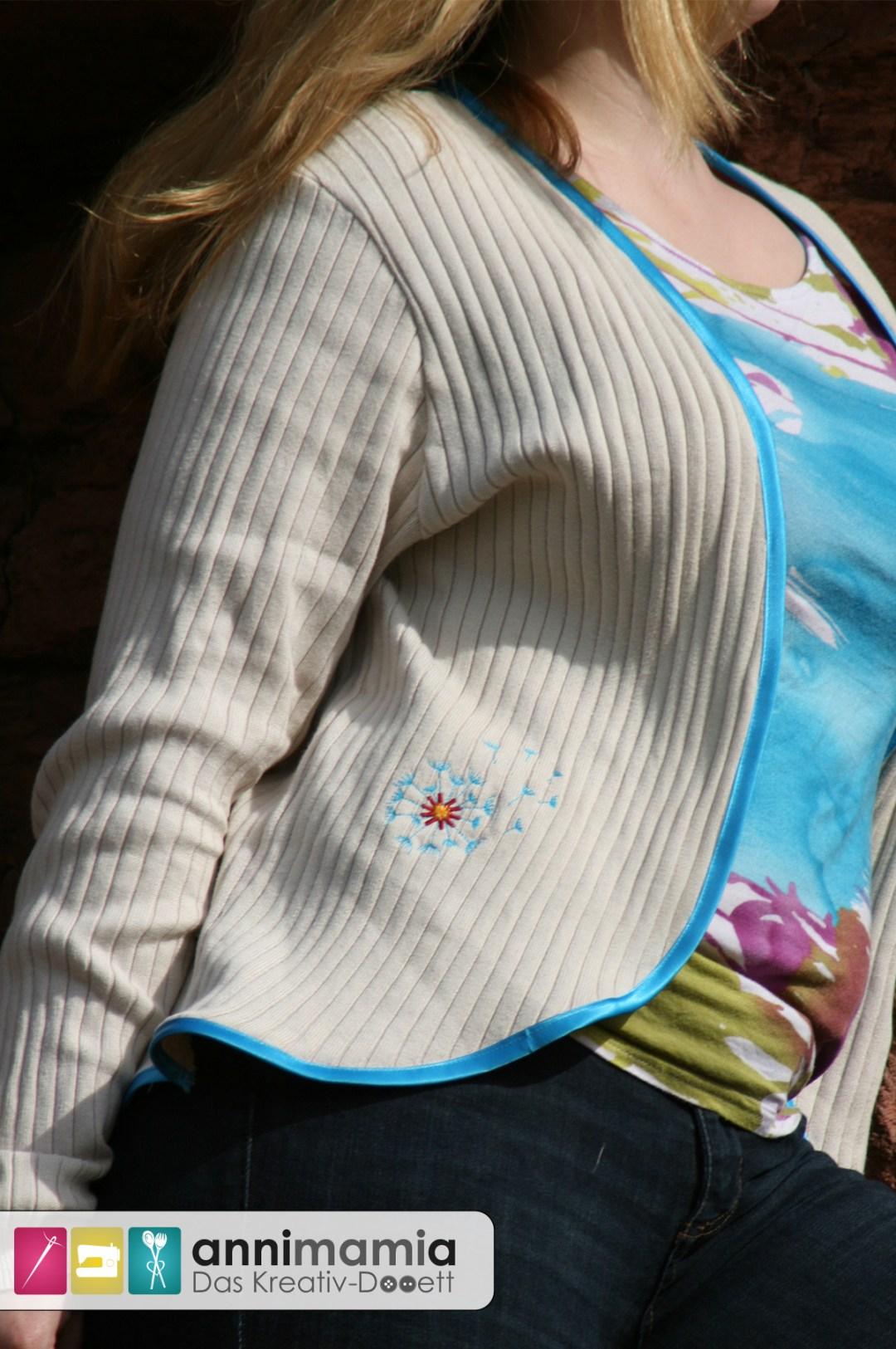 Cardigan My Cuddle Me von Schaumzucker mit Stickerei