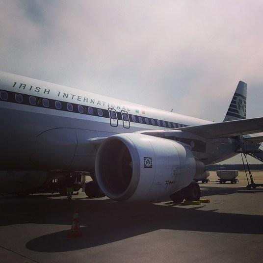 Airlingus-Flug nach Dublin