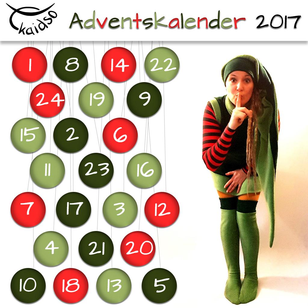 Kaidso Onlinekurse Adventskalender 2017