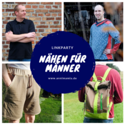 """Linkparty """"Nähen für Männer"""" (Teaserbild)"""