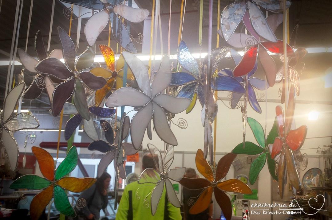 Workshop Tiffany-Blumen Florin auf der Kreativall Hofheim Wallau Wiesbaden