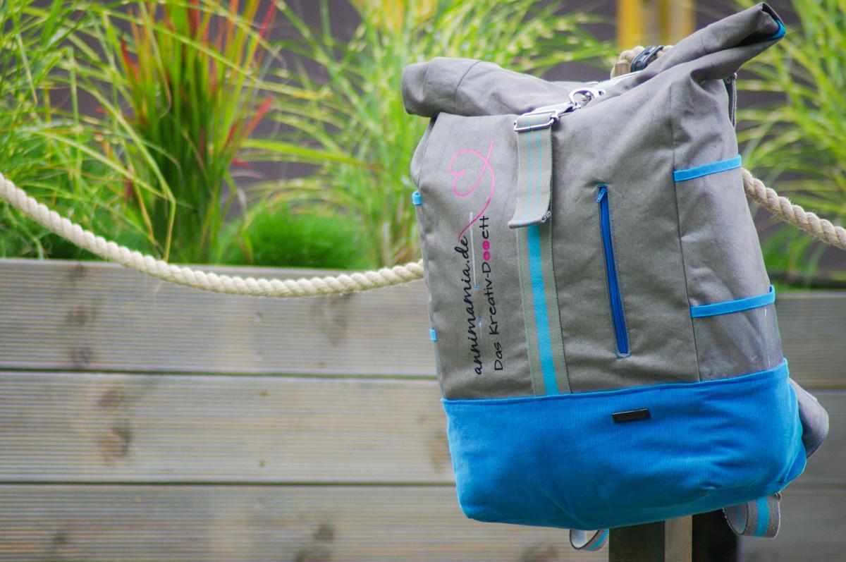 Mein neuer Messebegleiter:Der (noch) namenlose Rucksack