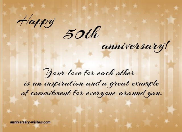 50th wedding anniversary wishes