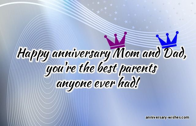 Wedding anniversary poems for parents