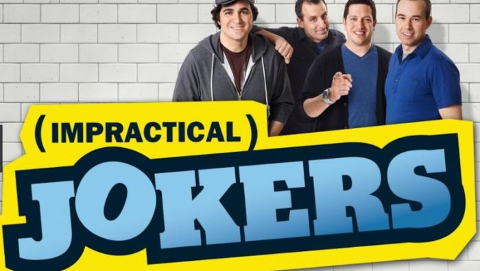 Impractical Jokers, TRU TV, Date Night Shows, First Date Show,