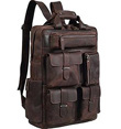 Leather Vintage Laptop Backpack