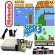 Nintendo System Mario Bros Games Included