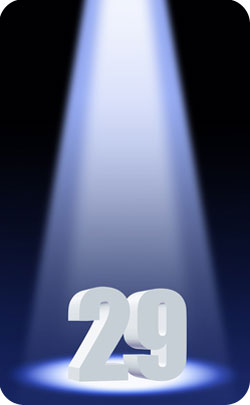 29th year spotlight image