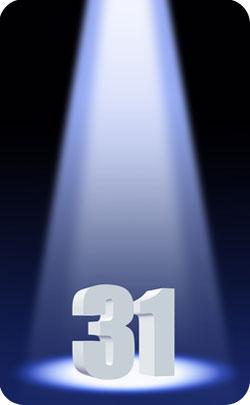 31st year spotlight image