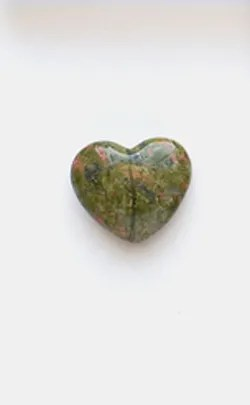 14th Year Anniversary Gemstone - moss agate