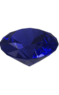 Diamond cut Tanzanite Gemstone