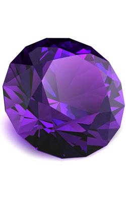 Diamond cut amethyst to represent the modern 33rd anniversary symbol  sc 1 st  Anniversary Ideas & 33rd year Wedding Anniversary ~ Anniversary Ideas