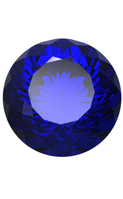 Sapphire Jewel that represents the Sapphire Wedding