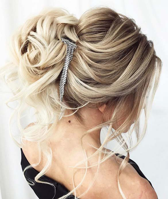 15 most beautiful updo wedding hairstyles to inspire you annlace hair padding hairstyles junglespirit Choice Image