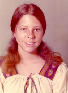 Me in 8th grade at Stuart Middle School, Spring semester 1972