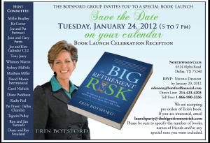 Congratulations Author Erin Botsford!