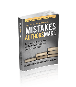 New Book – Mistakes Authors Make