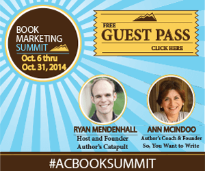 Ryan Mendenhall's Author's Book Marketing Summit