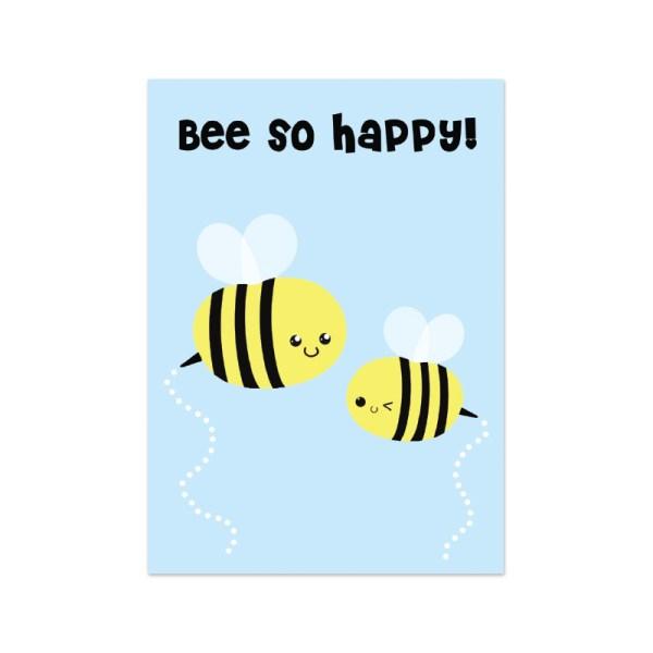 kaartje bijen