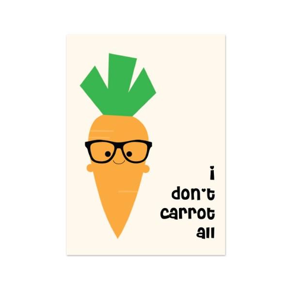 kaartje wortel carrot