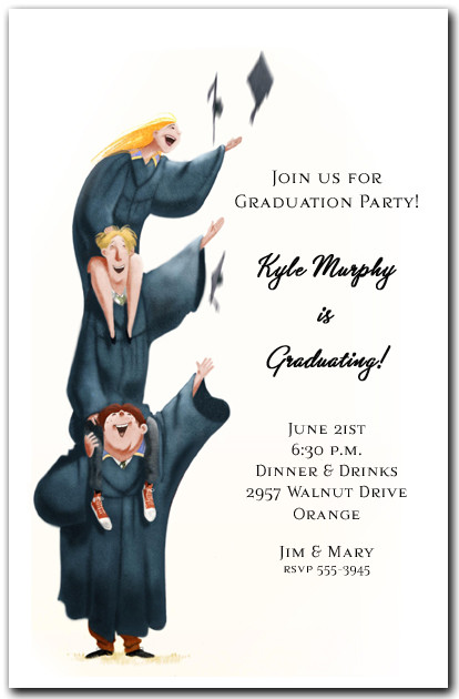 Higher Learning Graduation Invitation Graduation Party