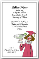 Graduation Party Invitations High School College Quinceanera