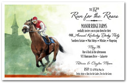 Kentucky Derby Party Invitations Derby Invitations