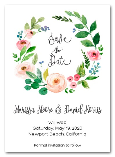 Save Date Cards Ideas