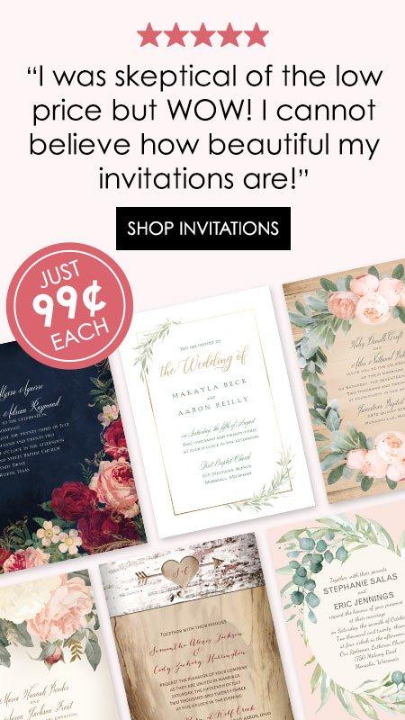 Wedding Invitations With Free