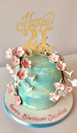 Awesome Girls 21St Birthday Cake Archives Anns Designer Cakes Personalised Birthday Cards Veneteletsinfo