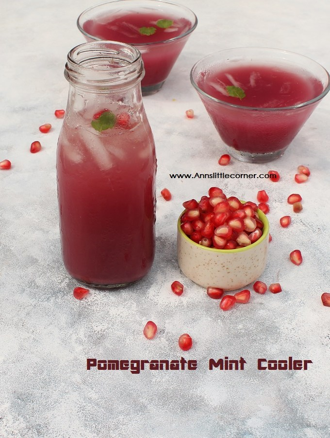 Pomegranate Mint Cooler / Pomegranate Mint Juice