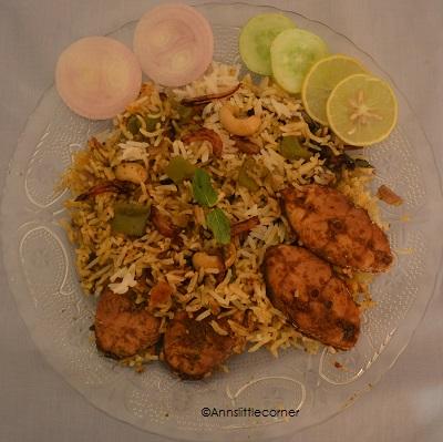 How to make Fish Briyani - Step 11