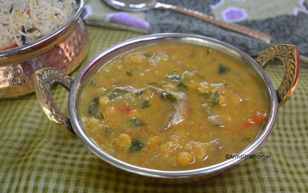 Muslim style Brinjal Sambar | Muslim style Brinjal gravy