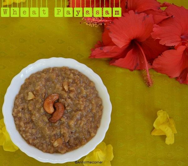 Wheat Payasam