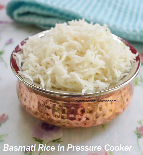 Basmati Rice in Pressure Cooker (2)