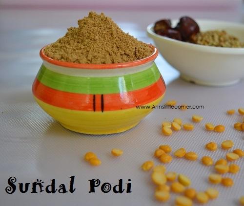 Sundal Podi