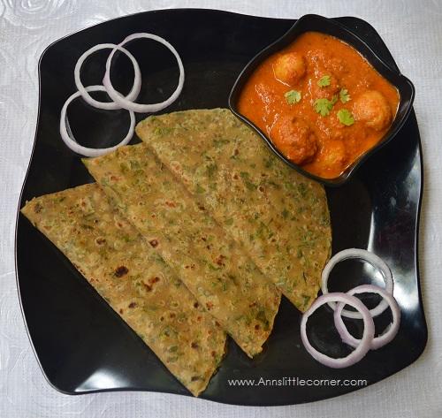 Coriander Ajwain Chapati