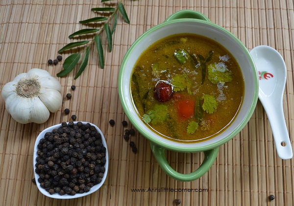Mutton Rasam | Spicy Tangy Lamb Soup