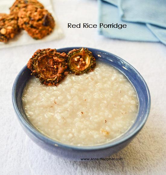 Red Rice Porridge