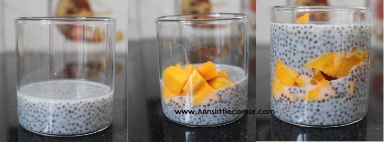 Mango Chia Seed Parafait
