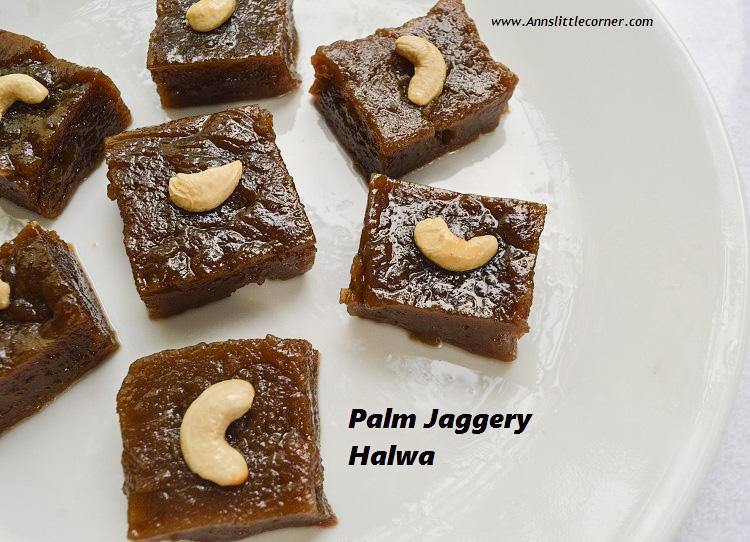 Palm Jaggery Halwa