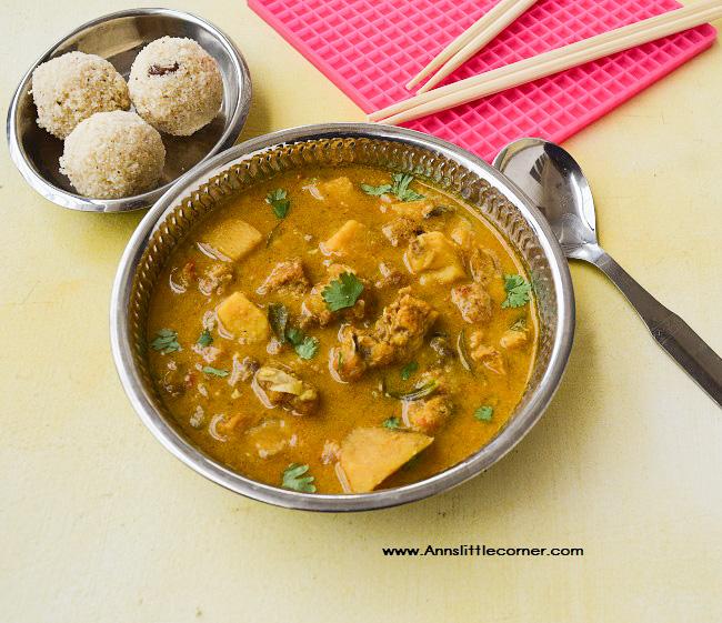 Yam Chicken Curry