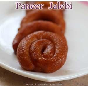 Paneer Jalebi / Chanar Jilepi